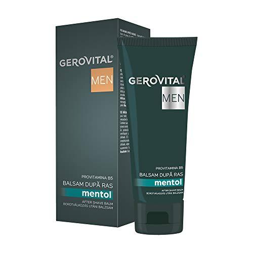 Gerovital Men, Bálsamo After Shave, para todo tipo de pieles, 100 ml