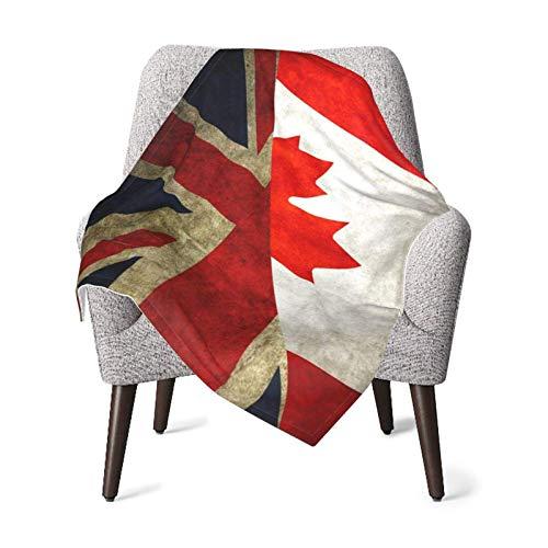 XCNGG Coperte per Neonati trapunte per Neonati Coperte per Neonati Canada UK British Flag Baby Blanket all Season, Super Soft Warm Cozy Blanket...