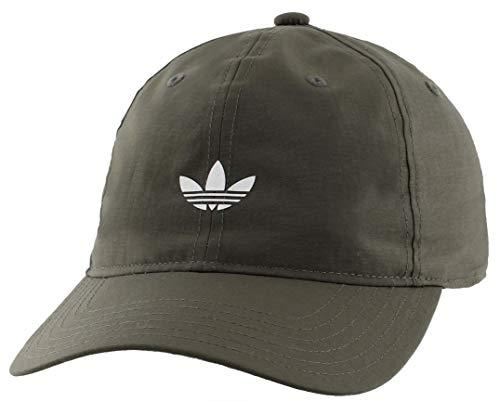 adidas Men's Originals Modern Relaxed Adjustable Strapback Cap, Cinder/Ref Silver, One Size