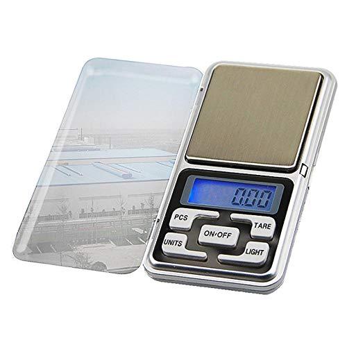 FQYYDD Báscula de cocina La pantalla Mini Ker de pesaje se utiliza para la joyería de cocina de alimentos. 500G-0.01G