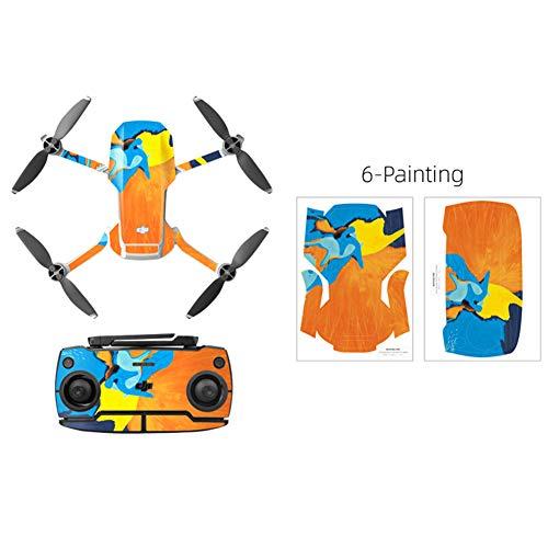 XuBa PVC Shell Decoratie Sticker voor DJ=I Mav=ic Mini Drone Lichaam Arm en Controller Waterdichte Anti-Scratch Volledige Beschermende Film