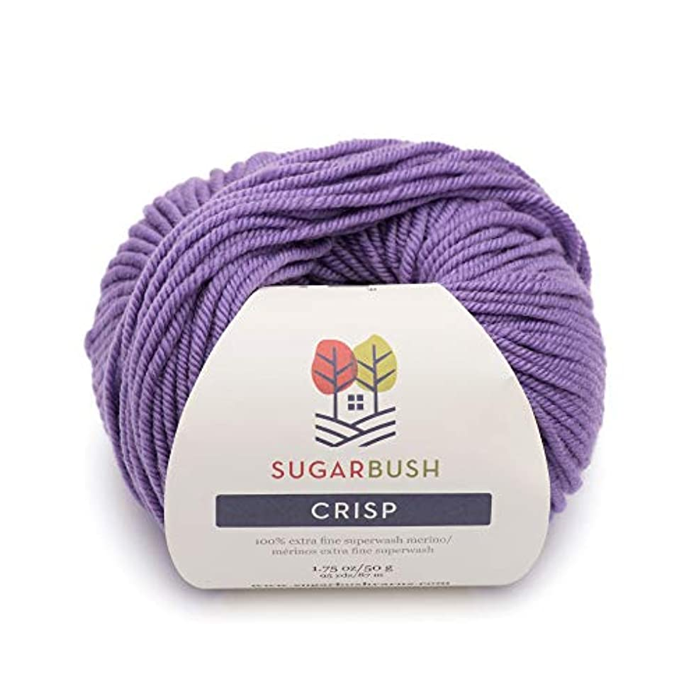 Sugar Bush Yarn Crisp Double Knitting Weight, Laurentien Lavender