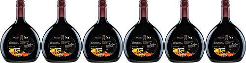 6x Spätburgunder Rotwein trocken 2016 - Weingut Hirn & Hundertwasser im Weinparadies, Franken - Rotwein
