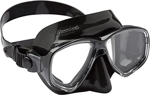 Cressi Marea Gafas de Snorkeling, Unisex, Negro