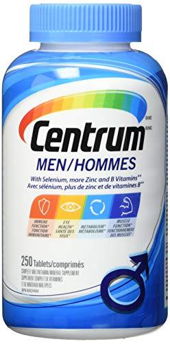 Centrum For Men - 250 Tablets (Value Pack) by Centrum