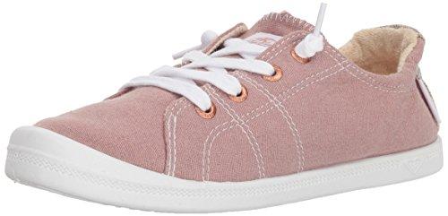 Roxy Women's Bayshore Slip on Shoe Sneaker, Rose, 5.5