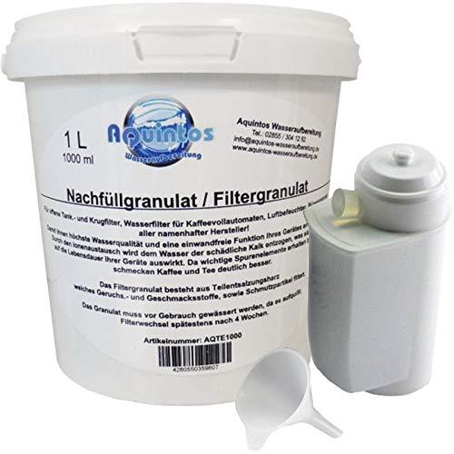 1 L Refill - Set Nachfüllset für Bosch VeroCafe, VeroBar Aroma Pro Wasserfilter