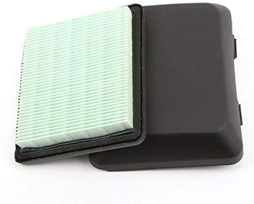 cyclingcolors Filtro de aire 17211-ZL8-000 + tapa cubierta 17231-ZM0-000 cortacésped compatible con HONDA GCV 135 160 GC 135 160