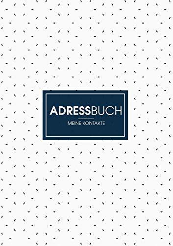 Adressbuch - Dein Organisierer für Adressen und Kontakte: Adressbuch für Emails, Adressen, Telefonnummer und mehr