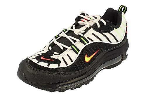 Nike Air Max 98 Sneakers Herren Casual Schuhe 640744-015, Mehrfarbig - Platinium TNT/Black - Größe: 40.5 EU