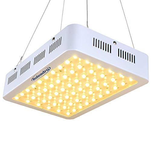 Roleadro 600W LED Grow Light 2nd Generation Series Plant Light Full Spectrum with Daisy Chain for Indoor, Greenhouse, Hydroponics Veg and Bloom