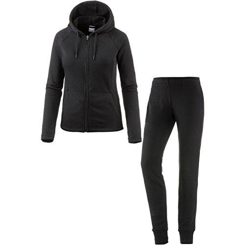 PUMA Classic Sweat Suit cl, Tuta da Allenamento Donna, Cotone Nero, S