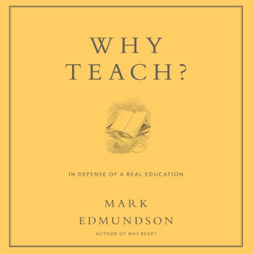 Why Teach? cover art