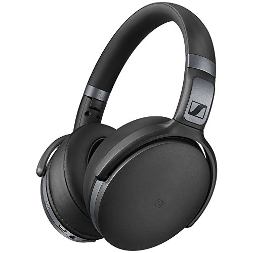 Sennheiser HD 4.40BT Cuffia Wireless, Microfonica con Bluetooth, 18- 22.000 Hz, Nero Opaco