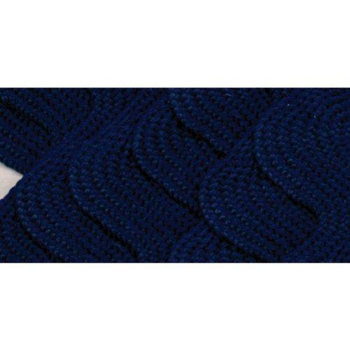 Wrights 117-402-055 Polyester Rick Rack Trim, Navy, Jumbo, 2.5-Yard