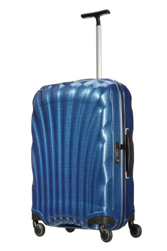 Samsonite, Cosmolite, Spinner Trolley 69 cm 4 ruote, Blu scuro