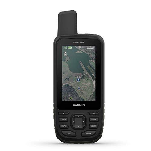 "Garmin GPSMAP 66s, Handheld Hiking GPS with 3"" Color Display and GPS/GLONASS/GALILEO Support (Renewed)"