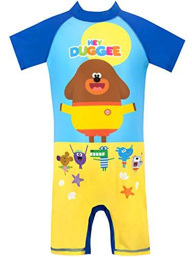 Hey Duggee Bañador para Niño Club de Las Ardillas Multicolor 3-4 Años