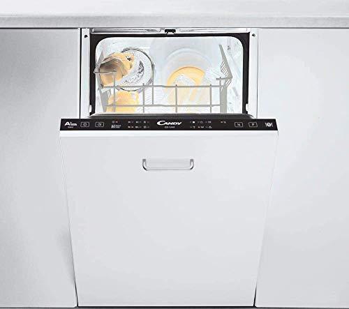 CANDY CDI 1L949 Lavastoviglie da Incasso Slim 45cm x 82cm x 55cm Capacità 9 Coperti, Classe Energetica A+, Bianco