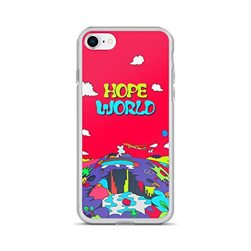 iPhone 7/8 Pure Clear Case Cases Cover J-Hope Hope World Album Art v1