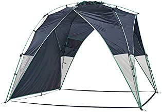 Lightspeed Outdoors Tall Canopy, Beach Shelter, Lightweight Sun Shade Tent with One Shade Wall Included (Deep Navy, Canopy)