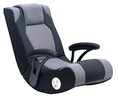Game Chair XPro 200 Video Rocker With Headphone Jack, Speaker System,AFM Technology for playing video games, listening to music, watching TV, reading, and relaxing
