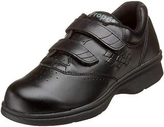 Propet Women's W3915 Vista Walker Sneaker,Black Smooth,8.5 X (US Women's 8.5 EE)