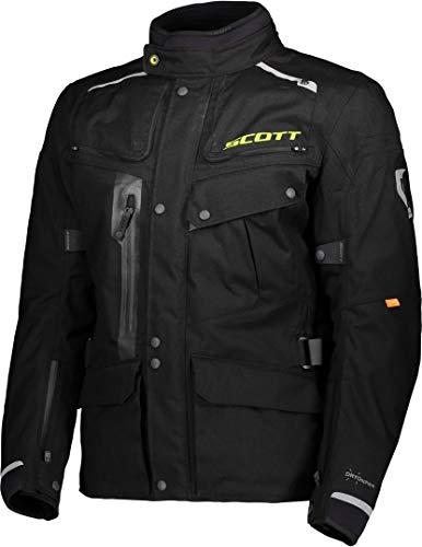 Scott Voyager Dryo Motorrad Jacke schwarz 2020: Größe: XL (52/54)