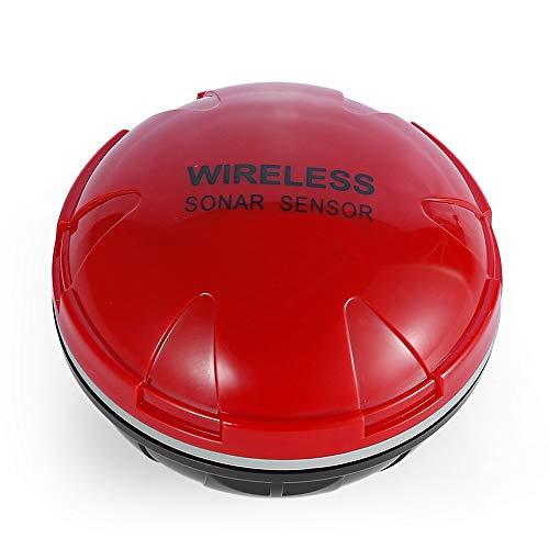 Angelzubehör Intelligente Bewegliche Sonar - Wireless Wi-Fi-Fisch-Sucher Max Tiefe 36M for Kajak Und Eisfischen Outdoor Angeln (Color : Red, Size : One Size)