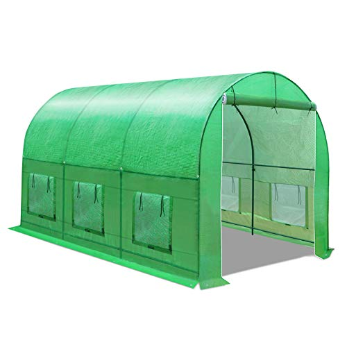 BenefitUSA Multiple Size Large Greenhouse Walk in Outdoor Plant...