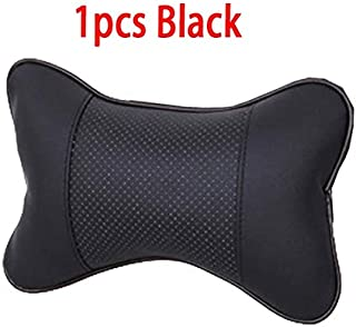 ZDPARTS Car Seat Neck HeadRest Pillow Covers for BMW e60 e90 e36 Ford Mondeo kuga Toyota