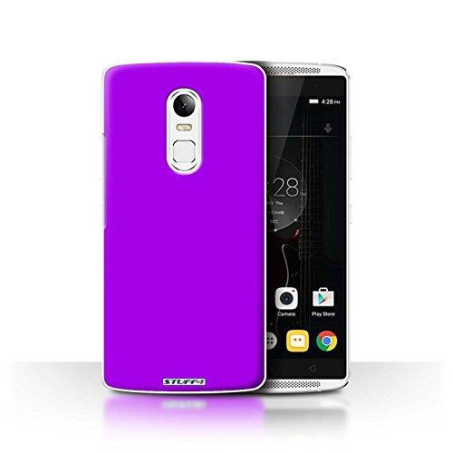 Hülle Für Lenovo Vibe X3 Farben Lila Design Transparent Ultra Dünn Klar Hart Schutz Handyhülle Hülle