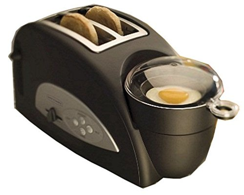 Back to Basics TEM500 Egg-and-Muffin 2-Slice Toaster and Egg Poacher (Discontinued by Manufacturer)