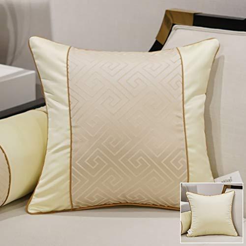 Coussin texture oreiller salon canapé coussin noyau lit arrière oreiller oreiller lombaire 2 pack 45 * 45 cm (Couleur : B)