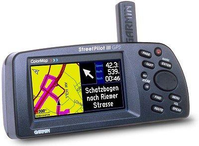 Garmin Streetpilot III Deluxe Función de Auto-navegador GPS portátil de Coche-Sistema de navegación GPS