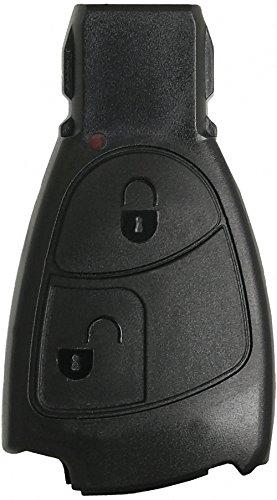 Liamgate Ersatz Schlüsselgehäuse geeignet für Mercedes-Schlüssel-mit-2-Tasten