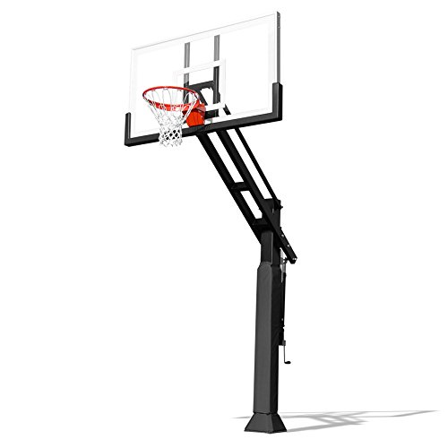 Pro Dunk Gold Without Rust Armor Driveway Basketball Goal...