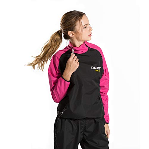 DNRZY FIT Sweat Sauna Suits for Women Weight Loss Slimming Clothes Lose Weight Fat Burner Durable Long Sleeves Running Workout Cloth