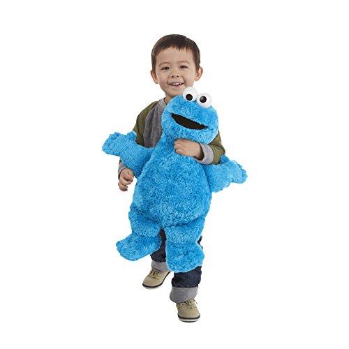 セサミストリート ぬいぐるみ クッキーモンスター 大きな 大きい 51cm 人形 子供 クリスマス ギフト プレゼント キャラクター グッズ [並行輸入品]