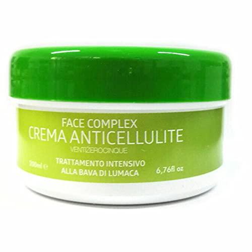 Crema Anticelulítica con Baba de Caracol para Glúteos Piernas Brazos 200ml, Crema Anticelulitis Tratamiento Intensivo