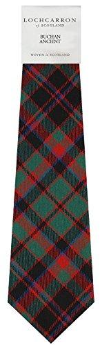 I Luv Ltd Gents Neck Tie Buchan Ancient Tartan Lightweight Scottish Clan Tie