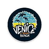 HAOXIANG - Posavasos de mesa con protección de corcho, base de Venecia, playa, apartamento, cocina, bar, decoración para cualquier tamaño de vasos de bebida, regalo único, como foto, 0.20x3.9inx4