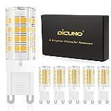 DiCUNO G9 LED Bulb 4W, 40W Halogen...