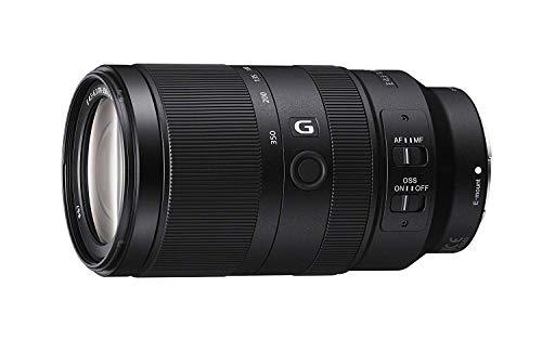 Sony SEL70350G, Objetivo de Montura E (Supertele Objetivo G F4.5-6.3 OSS con Rango de Ampliación 5X, Motor Lineal de Baja Vibración, SteadyShot Óptico, Resistente al Polvo y Humedad)