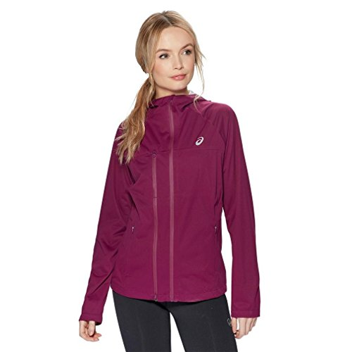 ASICS Accelerate Jacket Damen Laufjacke Prune Gr. XL
