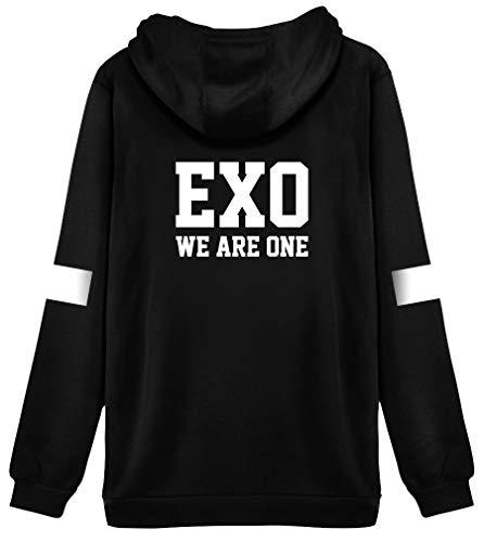 HAIZIVS K-Star Unisex Cap Kapuzenpullover Sweatshirt Fashion Hoodie Fans Hoodie Wear We Are one