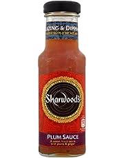 Sharwoods Salsa de ciruelas 300 g (Paquete de 6)