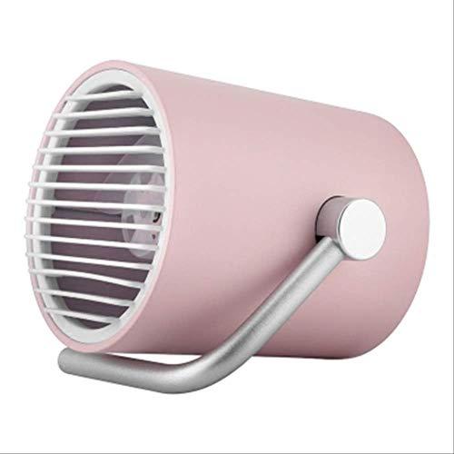 usb kleine Fan Mini Bett Auto Student Desktop Schlafsaal Desktop-Lüfter leise tragbar Dichtes Rosa
