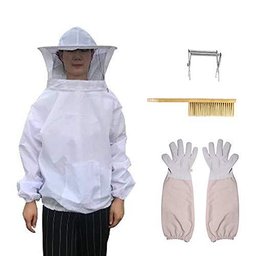 Imicole van katoenen jas, bijenhandschoenen, bijenteelt, clip, voor frame Nest