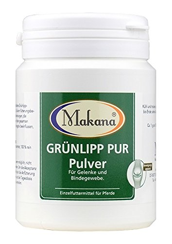 Makana Grünlipp PUR, 100% Groene lippmoschelconcentraat (poeder), 100 g doos (1 x 0,1 kg)